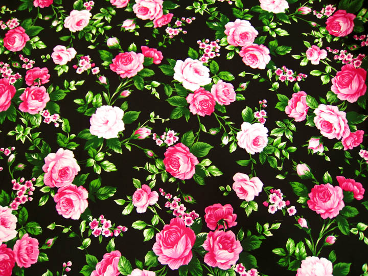 large print black flowers wallpaper 13 wide wallpaper