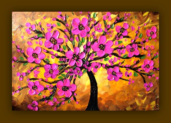 Simple Flower Paintings Rhbeverlycarmaroc 3 D Fl Canvas Wall Art Martha Stewart