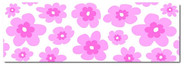 Pink flowers cartoon 6 widescreen wallpaper hdflowerwallpaper pink flowers cartoon hd wallpaper mightylinksfo