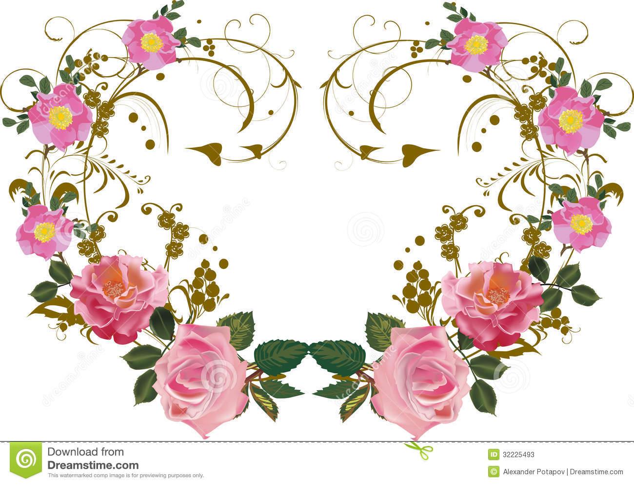 Pink Flowers Decoration  16 Widescreen Wallpaper