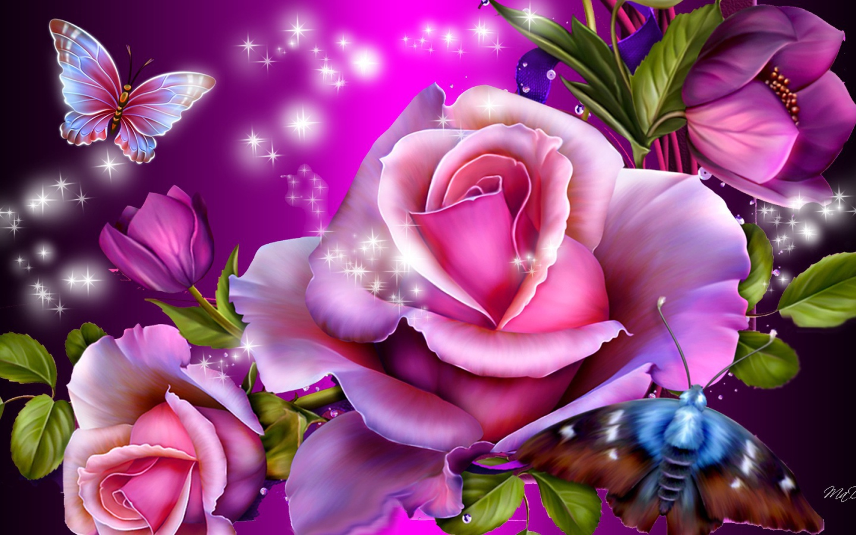 purple roses wallpaper 37 desktop background