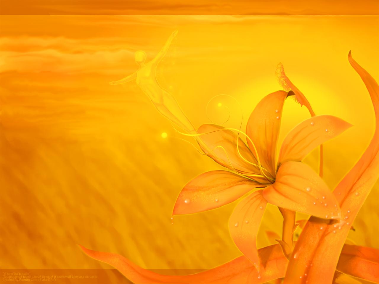 Yellow flower wallpaper 3 widescreen wallpaper hdflowerwallpaper yellow flower wallpaper hd wallpaper mightylinksfo