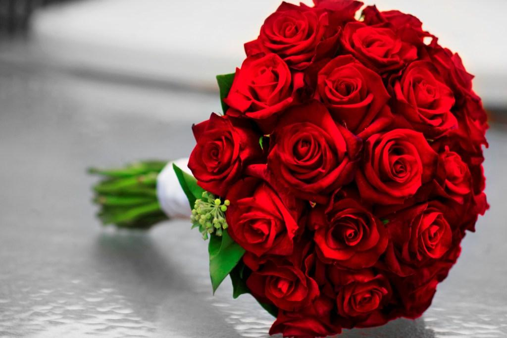 Red Flowers For Wedding Bouquets 20 Background Wallpaper ...