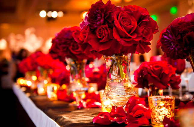 Red Flowers For Weddings Centerpieces - Flowers Healthy