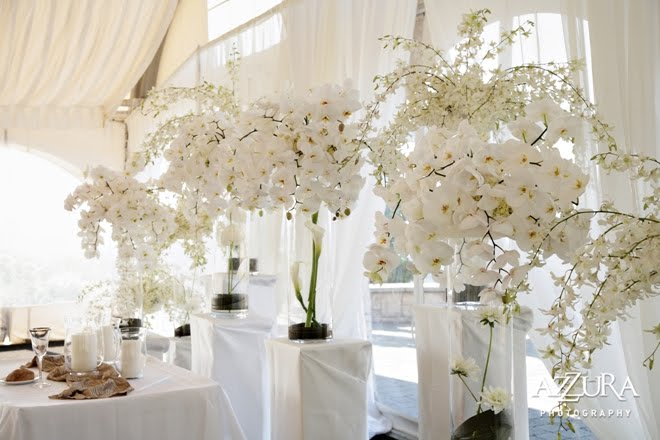 White Flowers For Wedding Centerpieces Free Wallpaper