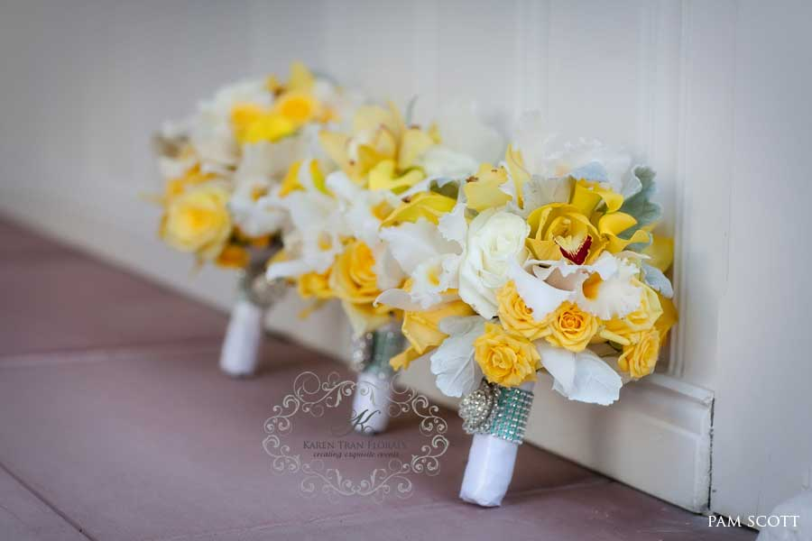 Yellow Flowers For Wedding Bouquet 2 Background Wallpaper ...