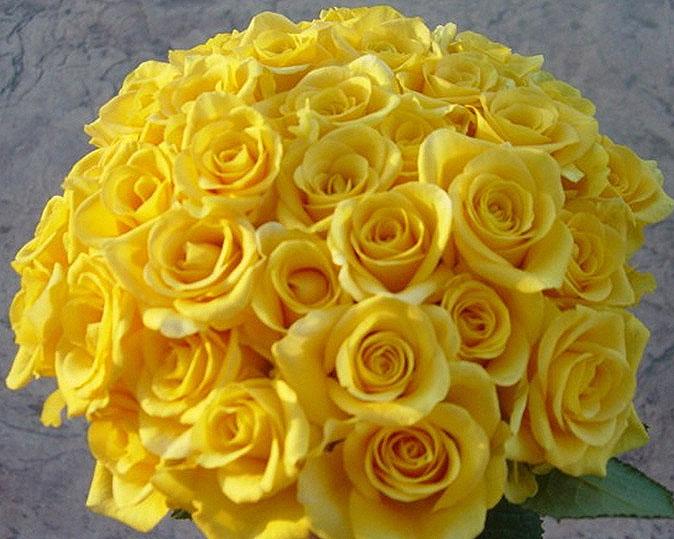 Yellow Flowers For Wedding Bouquet 4 Desktop Background ...