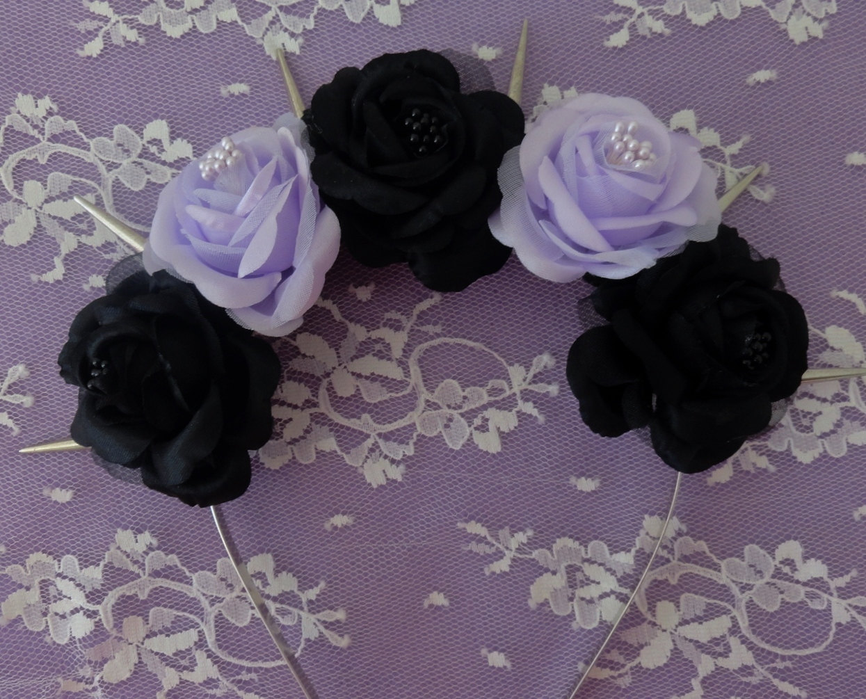 Black Flower Crown 34 Desktop Background Hdflowerwallpaper