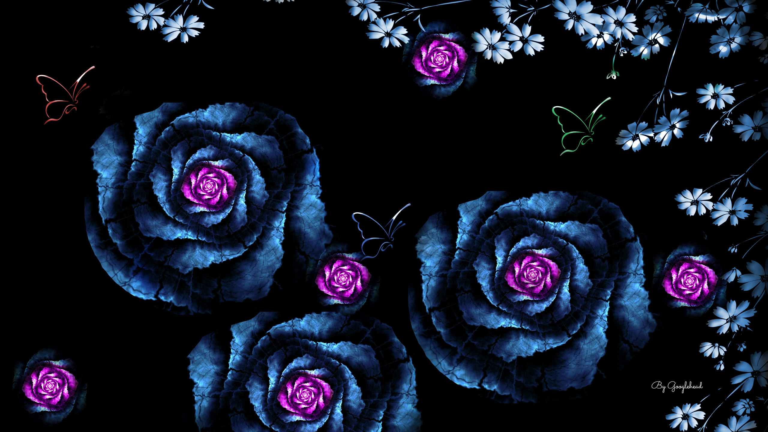 Blue Roses Wallpaper 29 Free Hd