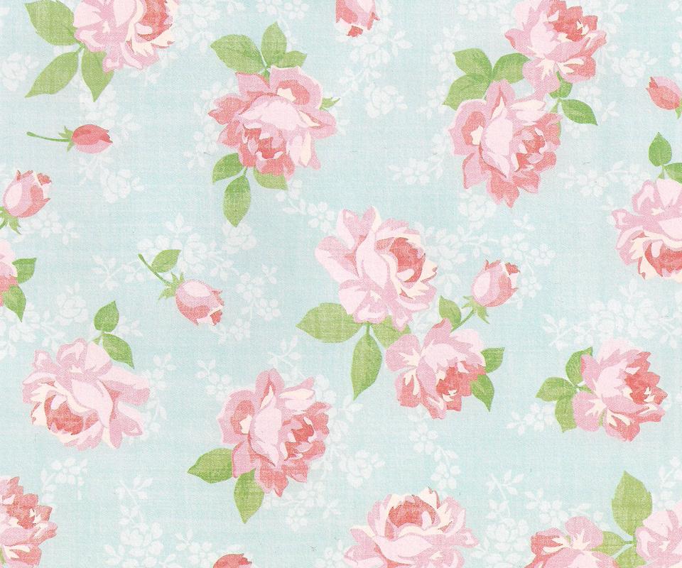 flower wallpaper vintage 3 desktop wallpaper