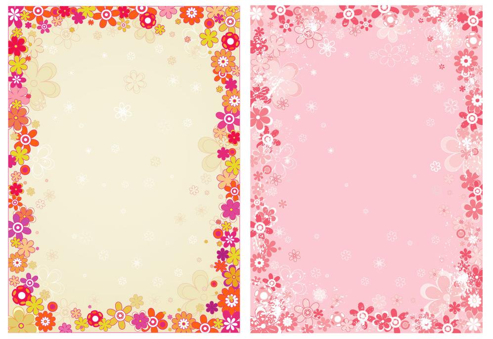 flower wallpaper floral border - photo #22
