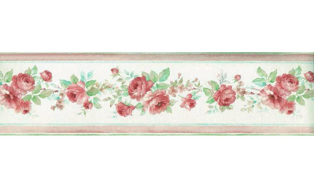 pink rose wallpaper border 14 widescreen wallpaper