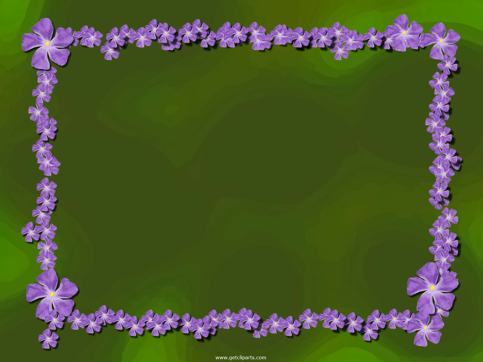 Purple Flower Wallpaper Background Borders 9 Widescreen