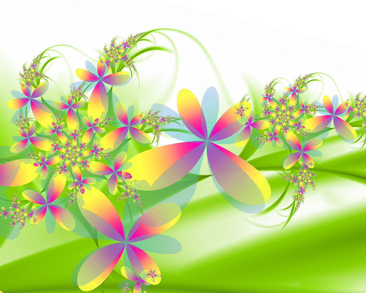 3D Flower Wallpapers For Desktop 2 Cool Wallpaper