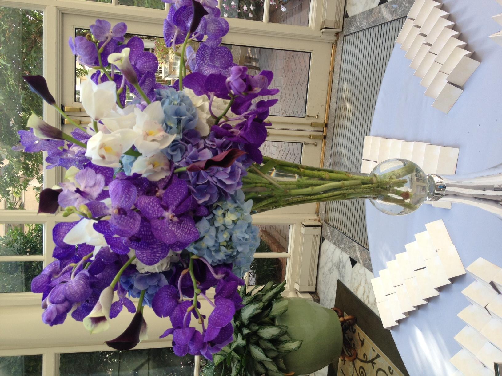 Purple Flower Arrangements 66 High Resolution Wallpaper ...
