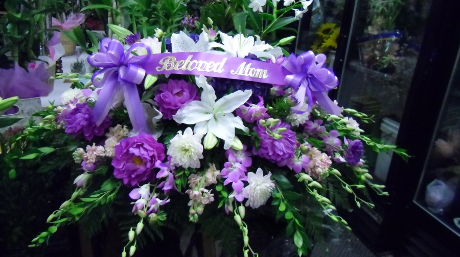 Purple Flower Arrangements For Funeral 10 Desktop ...