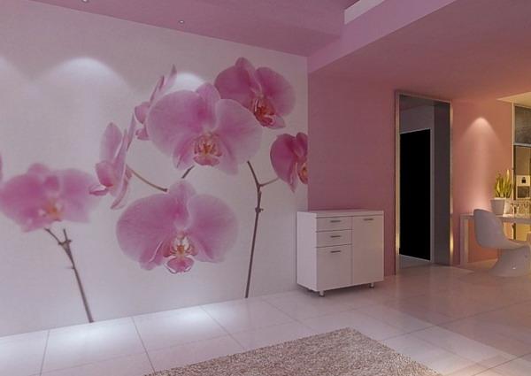 Flower Wallpaper Living Room 11 High Resolution Wallpaper