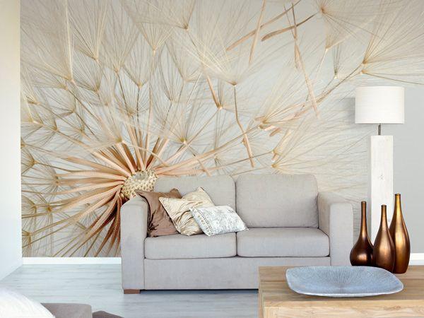 Flower wallpaper living room 16 cool wallpaper for Flower wallpaper for living room