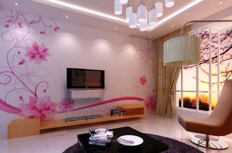 Flower Wallpaper Living Room 29 Free Wallpaper HdFlowerWallpapercom