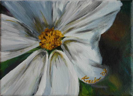 White Flowers Paintings 20 High Resolution Wallpaper ...